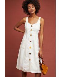 Anthropologie - Antigua Buttondown Dress - Lyst