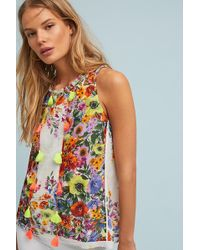 Anthropologie - Floral Swing Blouse - Lyst