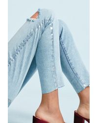 Current/Elliott - The Stiletto High-rise Skinny Cropped Jeans - Lyst
