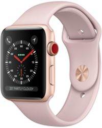 Apple - Watch Series 3 Gps, 42mm Gold Aluminum Case With Pink Sand Sport Band - Lyst