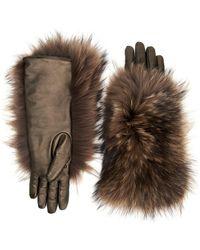 Aquatalia - Fur Glove - Lyst