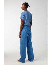 ARKET - Cotton Twill Workwear Trousers - Lyst