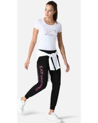 Emporio Armani | Fleece Trousers | Lyst