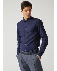 Emporio Armani - Classic Shirt - Lyst