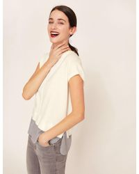 Armani Exchange - Split-back Layer Effect Sweater - Lyst