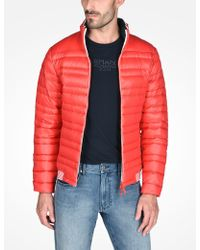 Armani Exchange - Packable Down Puffer Jacket - Lyst