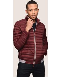 Armani Exchange - Bicolor Stand Collar Puffer - Lyst
