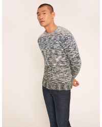 Armani Exchange - Ombre Marled Wool-blend Sweater - Lyst
