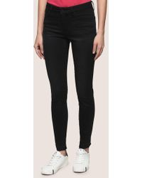 Armani Exchange - Frayed Hem Super-skinny Jeans - Lyst
