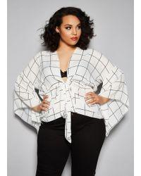 Ashley Stewart - Plus Size The Mia Top - Lyst