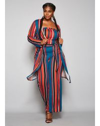 64dc65a1dc6 Ashley Stewart - Plus Size The Marley Duster - Lyst