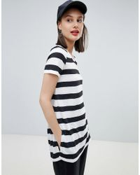 Esprit - Stripe Tunic Top - Lyst