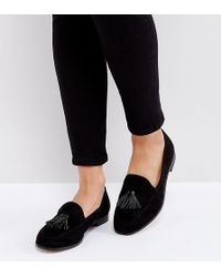 London Rebel - Flat Tassle Loafers - Lyst