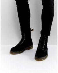 Dr. Martens - 1460 Suede Boots - Lyst