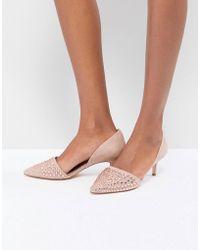 Coast - Beaded Kitten Heel Shoes - Lyst