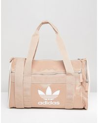adidas Originals - Travel Bag With Trefoil Logo - Lyst