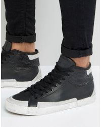 Religion - Uptown Hi Top Leather Sneakers - Lyst