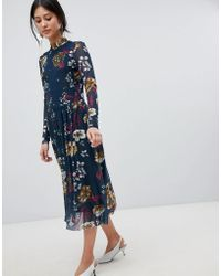 Y.A.S - Bold Floral Dress - Lyst