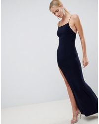 ASOS - Design Slinky Maxi Dress - Lyst