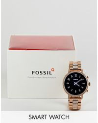 Fossil - Ftw6011 Gen 4 Q Venture Smart Watch 40mm In Gold - Lyst
