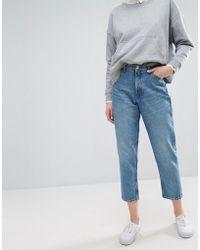 Monki - Taiki High Waisted Mom Jeans - Lyst