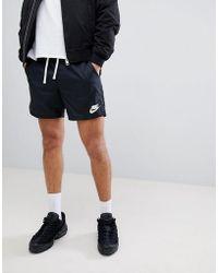 Nike - Short tiss - Lyst
