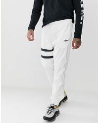 Nike - Fc Trackpant In White - Lyst