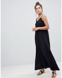 ASOS - Asos Scoop Back Maxi Dress In Crinkle - Lyst