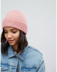 Weekday - Multi Yarn Beanie Hat - Lyst