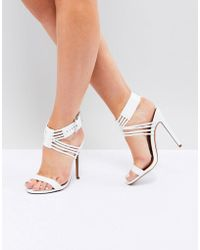 ASOS DESIGN - Asos Hurricane Heeled Sandals - Lyst