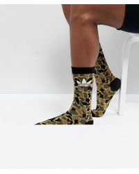 adidas Originals - Crew Socks In Multi Ce5732 - Lyst