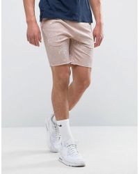 ASOS - Skinny Jersey Shorts With Paint Splats - Lyst