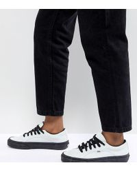 Vans - Lampin Trainers In Pastel Blue - Lyst