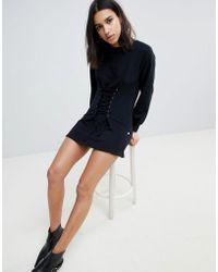 NYTT - Riley Corset Sweater Dress - Lyst