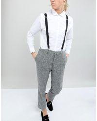 New Look - Suspenders In Black - Lyst