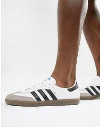 official photos 88cc4 ef9eb adidas Originals - Zapatillas de deporte blancas Samba OG B75806 de - Lyst