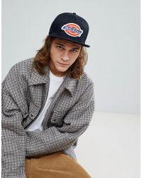 Dickies - Muldoon Snapback Cap With Logo In Black - Lyst
