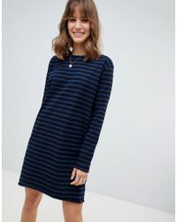 M.i.h Jeans - M.i.h Jeans Mariniere Classic Stripe Sweat Dress - Lyst