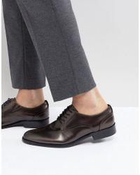 ALDO - Exzephir Leather Derby Shoes - Lyst