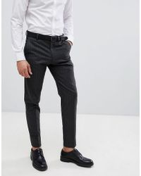 SELECTED - Homme Tapered Suit Pants In Pinstripe - Lyst