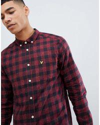 Lyle & Scott - Flecked Check Shirt - Lyst