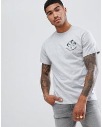 Abuze London - Abuze Ldn A Back Print T-shirt - Lyst