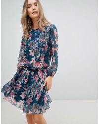 Zibi London - Floral Drop Waist Dress - Lyst