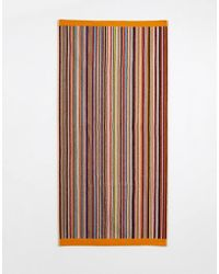 Paul Smith - Multi Stripe Towel - Lyst