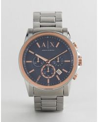 Armani Exchange - Ax2516 Outer Banks Chronograph Bracelet Watch - Lyst
