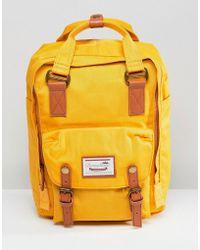 Doughnut - Macaroon Backpack In Mustard - Lyst