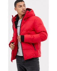 Jack & Jones - Core Water Repellent Coat With Thinsulate Lining - Lyst