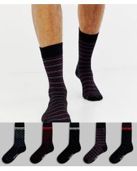 Ben Sherman - 5 Pack Sock In Gift Box - Lyst