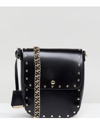 Glamorous - Cross Body Bag With Studding - Lyst