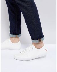 Levi's - Woods Brilliant White Trainers - Lyst